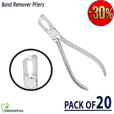 Dental Posterior Band Removing Pliers Ortho Molar Braces Bracket Tool pack of 20