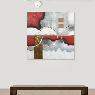 Modern Abstract Hand Painted Oil Painting On Canvas Wall Art Home Decor Framed