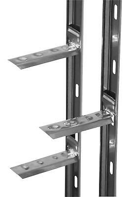Stainless Wall Starter Kit - FULL 2.4M Wall Tie-in System Top Quality AXLSS