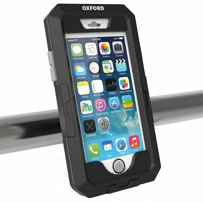 CON SUPPORTO MANUBRIO MOTO BICI PORTA TELEFONO IPHONE 5//5SE OXFORD CUSTODIA