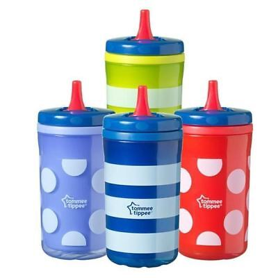 Tommee Tippee Kids on The Go Insulated Big Chill Spots 380ml, Colours May Vary