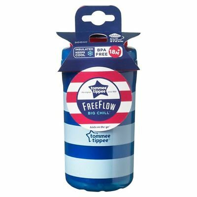 Tommee Tippee Kids on The Go Insulated Big Chill Spots 380ml, Blue