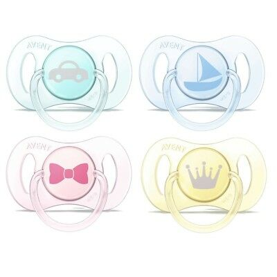 Philips Avent Mini Soother Twin Pack - Age 0-2m CHOICE OF DESIGN  (A95)