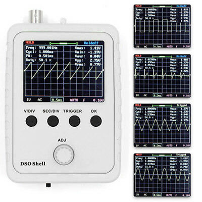 DSO150 200KHz Handheld 2.4 inch Color TFT LCD Digital DIY Oscilloscope Kit Set