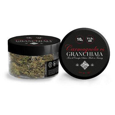 Canapa Erba legal weed Light - Granchiaia - 11.5% - seedless flowers - 10 g