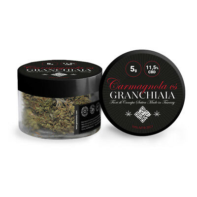 Erba legale - Granchiaia - legal weed - 11.5% - seedless flowers - 5 g