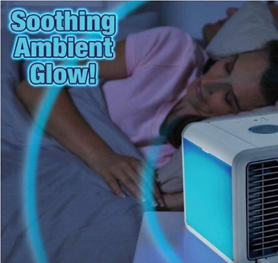 Portable Mini Air Cooler Arctic Air Conditioner with Soothing LED Light