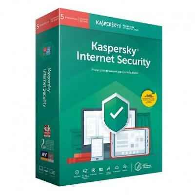kaspersky Internet Security 2019 3 Devices   1 year  / licença Global !#