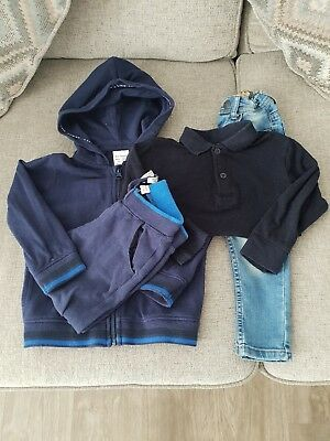 baby boys bundle age 2-3 years zara next primark tracksuit jeans amd polo