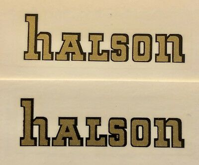 HALSON catalin Radio water slide Decal and for Wood vintage vacuum tube radios