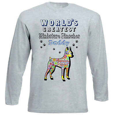 New Cotton Grey Hoodie Miniture Pinscher Hoodies & Sweatshirts Clothes, Shoes & Accessories