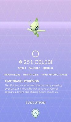Celebi Special Research ✔ A Ripple in Time ✔ Pokemon Go ✔ 100% Quick & Safe