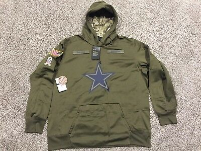 best sneakers d2b1c dddee NIKE DALLAS COWBOYS SALUTE TO SERVICE NFL HOODIE YOUTH L ...