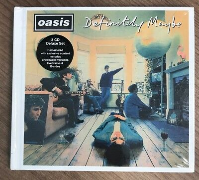 OASIS - Definitely Maybe [Remastered] [Deluxe Edition With Book] [Box] (3-CD)