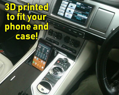 Phone dock for the Jaguar X250 XF - Custom built for your phone! Holder, mount.