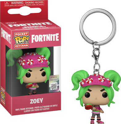 Fortnite S2 - Zoey - Funko Pop! Keychain: (2019, Toy NUEVO)