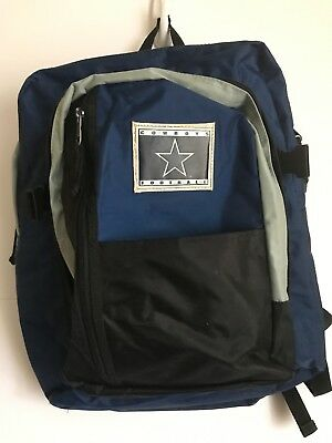 d9c08e1398 NFL FOOTBALL BACKPACK Dallas Cowboys Tote Gym Shopping Sack ...