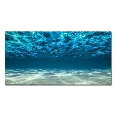 Large Painting Canvas Print Wall Art Picture Photo Home Decor Blue Sea Beach