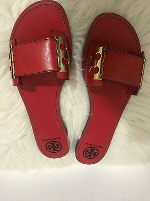 e0cb14dc242c27 TORY BURCH MILLER Flat embroidered Medallion Sandals-Vintage ...