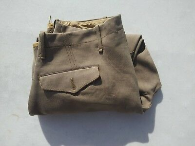 WW2 US Army Cavalry Pink Button Fly Officer's Pants 31 x 24