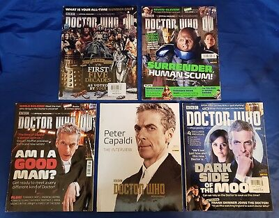 Doctor Who Magazine (1979) #474,475,476,477,478 1st Prints Peter Capaldi VG/FN
