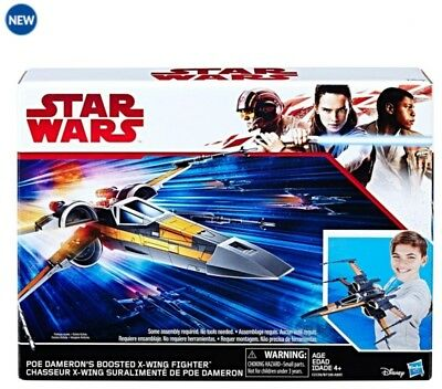 POE DAMERON'S BOOSTED X-WING FIGHTER Nave  Star Wars HASBRO Disney NUEVO