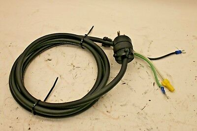Replacement Power Cord for Ammco Brake Lathe 3000, 4000, 4100, 3850, 7000, 7500