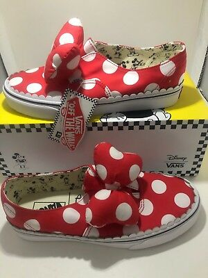e4fb21f3c634 VANS x Disney Minnie Mouse Bows Women Size 10 - NEW in Original Box with  Tags