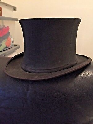 Original Vintage Austin Reed Folding Top Hat 25 00 Picclick Uk