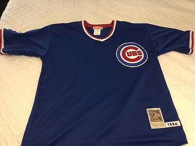 new styles 78db1 9e985 VINTAGE MITCHELL AND Ness 1984 Chicago Cubs Ryne Sandberg Jersey