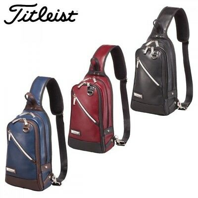 Titleist Japan Golf Classic Body Shouleder Bag PU Leather AJBDS85 With Tracking