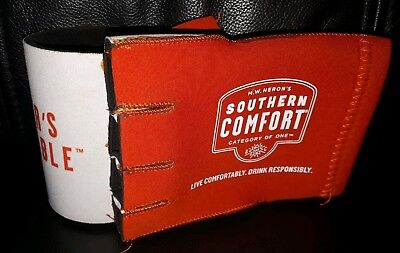 Rare Collectable Southern Comfort Glove Stubby Holder In Good Used Condition