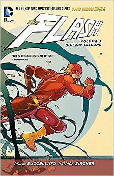 The Flash Volume 5 History Lessons Paperback