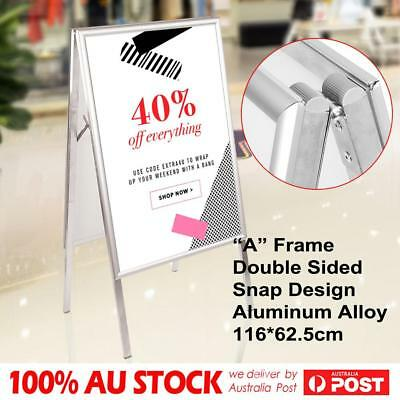 A1 Double Sided Snap A Frame Board Display Sign Poster Stand [Sandwich Board]