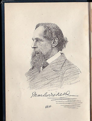 OUR MUTUAL FRIEND : Charles DICKENS - 1800's  Early Edition / 40 Illustrations +