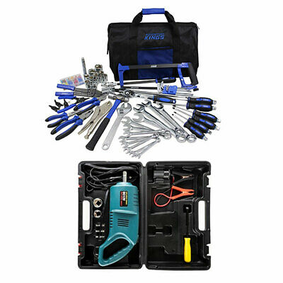 Adventure Kings Tool Kit - Ultimate Bush Mechanic + Hercules 12V Impact Wrench