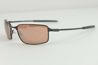 c6478fc10f Oakley Ti Square Wire Titanium Polished Black VR28 Black Iridium Sunglasses