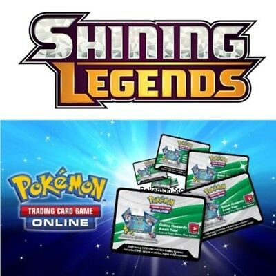 (SENT VIA EMAIL) 50x Sun And Moon Shining Legend Pokemon TCGO Online Code Cards