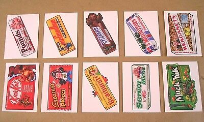2018 Topps GARBAGE PAIL KIDS GPK Wacky Candies TRICK OR TREAT SET of 10 cards