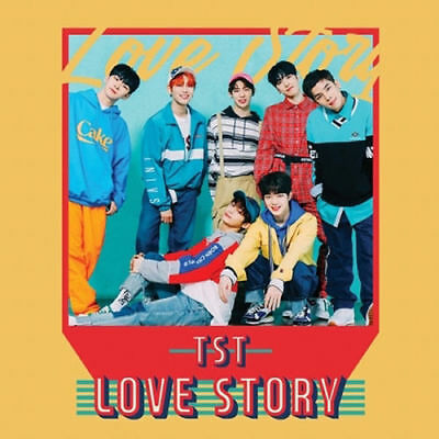 TOPSECRET [LOVE STORY] 1st Single Album TST CD+PhotoBook+Photo Card K-POP SEALED