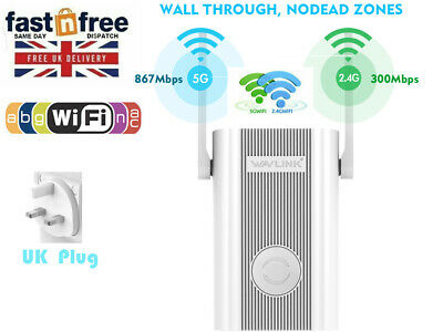 Wavlink Dual Band 1200Mbps WIFI Booster Internet Booster Repeater WIFI Extender