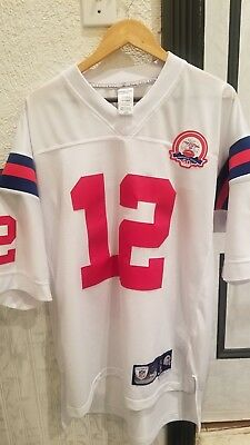 cheap for discount 51e4a 26fb1 NEW ENGLAND PATRIOTS Tom Brady Jersey White Throwback 50 Anniversary Men L  SEWN