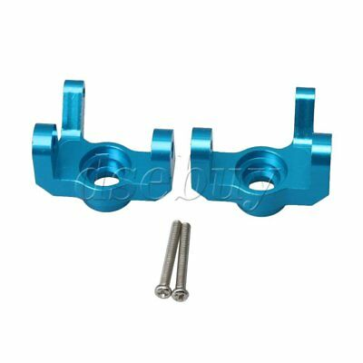 2PCS Aluminum Alloy Steering Hub Carrier for WL RC1:12 12428 12423 Model Car