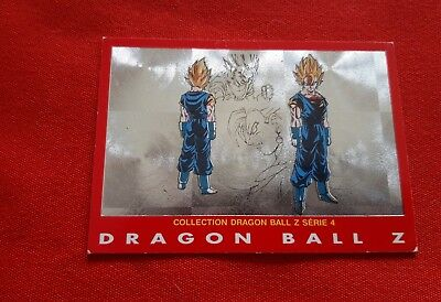 7 Vegetto Collection Series 4 Carte Dragon Ball Z Dbz Carddass 1989 Prisme