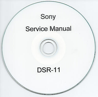 sony dsr pd150 pd150p service manual repair guide