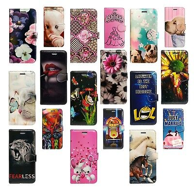 Designed Wallet Flip Book For Apple Iphone 5 5S Protection Phone Fone Case Cover
