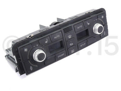 Genuine Audi A8 S8 2003 climate control Dashboard Unit 4E0820043D
