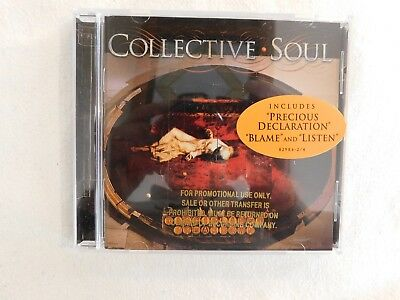 "Collective Soul ""Disciplined Breakdown"" Brand New Promo Cd! Never Played!"