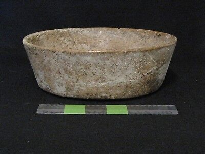 Pre Columbian, Pottery, Choice Mayan Brownware Bowl, Early Classic 300 600 AD