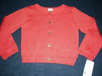 c2fdaaa46 GIRL CARTER S SPARKLE Button-Front Cardigan Size 24 Months Nwt ...